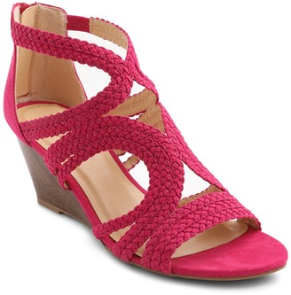 XOXO Sampson Wedge Sandal