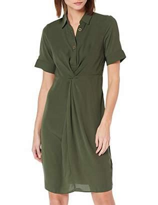 Dorothy Perkins Women's Knot Front Shirt Dress8 (Size:8)