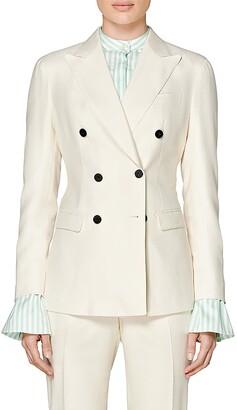 SUISTUDIO Cameron Silk Suit Jacket