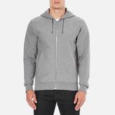 Paul Smith Men's Hooded Zip Through Hoody Grey