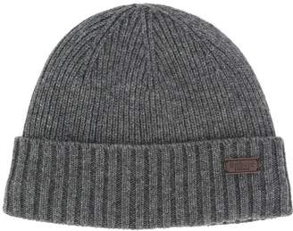 Barbour logo patch ribbed hat