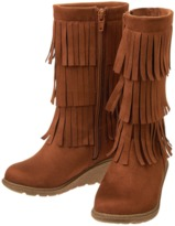 Crazy 8 Fringe Boots