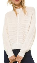 Michael Kors Michael Dolman-Sleeve Ribbed Sweater