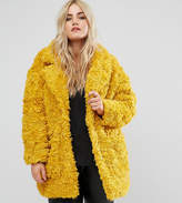 Alice & You Coat In Snuggle Faux Fur