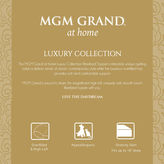 MGM GRAND AT HOME Mgm Grand At Home Overfilled Quilted Fiberbed Topper