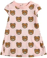 Moschino Teddy Bear Printed Cotton Jersey Dress