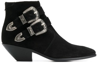 Saint Laurent WEST Western ankle boots