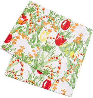 Tory Burch Home Garden Round Tablecloth