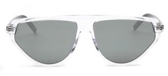 Christian Dior Geometric Frame Sunglasses
