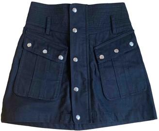 The Kooples Spring Summer 2019 Black Denim - Jeans Skirts