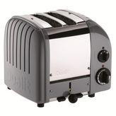 Dualit Cobble-Gray NewGen 2-Slice Toaster