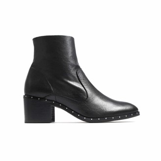 L'Intervalle LIntervalle Women's Tribeca Black Leather Ankle Boot 7 UK
