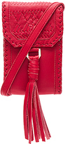 Cleobella Reckless Crossbody in Red.