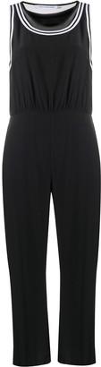 Calvin Klein Jeans Cropped Wide-Leg Jumpsuit