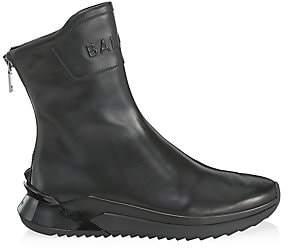 Balmain Men's Glove Leather Sneakers