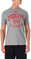 Under Armour Wisconsin Badgers College Charged Cotton T-Shirt