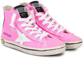 Golden Goose Deluxe Brand Kids - Francy high-top sneakers - kids - Cotton/rubber - 28