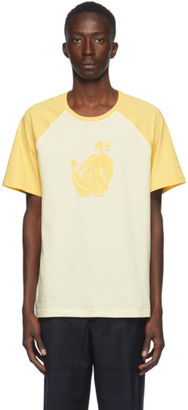 Lanvin Yellow and Beige Jeanne T-Shirt