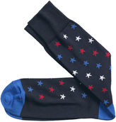 Johnston & Murphy Diagonal Stars Socks