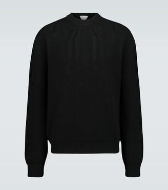 Bottega Veneta Military ribbed crewneck sweater