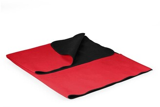 Picnic Time Blanket Tote Outdoor Picnic Blanket - Red with Black Liner
