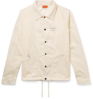 Saturdays NYC Appliqued Nylon Jacket