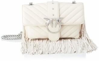 Pinko Love Mini Soft Fringes Cl Napp Womens Cross-Body Bag