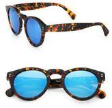 Illesteva Leonard 48MM Round Sunglasses