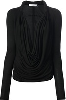 Givenchy Open Front Blouse