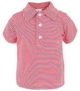 Rachel Riley Red & White Stripe Polo