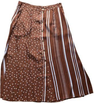 Stine Goya Brown Silk Skirts
