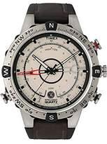 Timex Men's IQ T2N721 Brown Calf Skin Quartz Watch with Dial