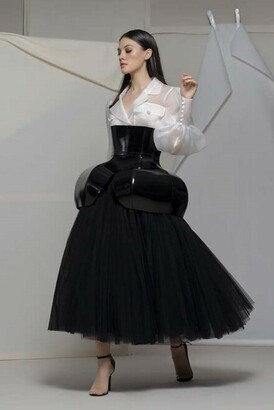 Isabel Sanchis Altivole Long Sleeve Blouse and Skirt