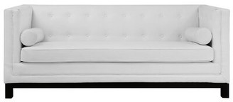 Ebern Designs Stanley Chesterfield Sofa Fabric: Blue