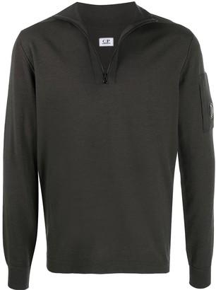 C.P. Company Zipped Turtle Neck Sweater