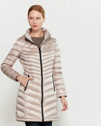 Calvin Klein Quilted Packable Down Coat