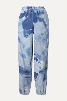 Moncler Genius - 3 Tie-dyed Tapered Ski Pants - Blue