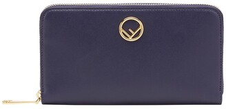 Fendi zip around wallet