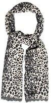 Anna Sui Multicolor Leopard Scarf