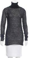 Helmut Lang Semi-Sheer Turtleneck Sweater