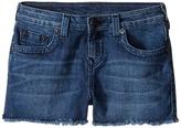 True Religion Joey Raw Edge Shorts in Shabori Girl's Shorts