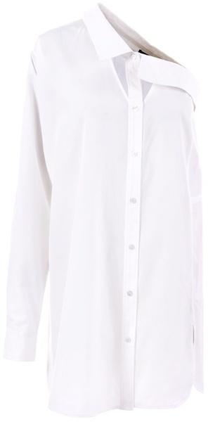 Alexander Wang One shoulder cotton shirt