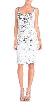 Jay Godfrey Sleeveless Sequin Sheath Dress