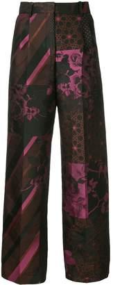 Stine Goya multi-print trousers