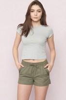Garage Zip Pocket Canvas Shorts