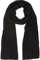 Barneys New York MEN'S RIB-KNIT SCARF
