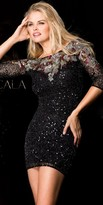 Scala Dazzling Scooped Back Homecoming Dress