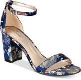 Bandolino Armory Block-Heel Sandals Women's Shoes
