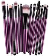 15 pcs/Sets Kingfansion Eye Shadow Foundation Eyebrow Lip Brush Makeup Brushes Tool
