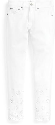 Ralph Lauren Tompkins Skinny Crop Jean